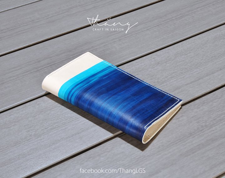 91S Store - Blue Ocean Long Wallet by Thắng