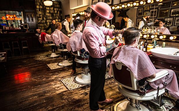 Bên Tây, họ cắt tóc ở đâu? – Phần 1