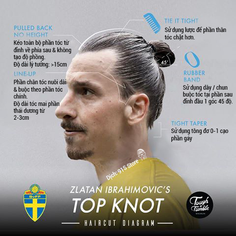 ZLATAN IBRAHIMOVIC - TOP KNOT - THE 91S